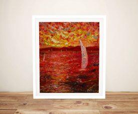 Garda Lake Framed Chiara Magni Artwork