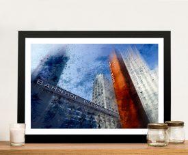 Berlin Skyscrapers Framed Melanie Viola Art