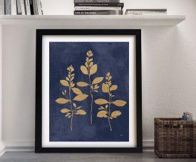 Botanical Study lV Framed Contemporary Art