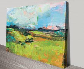 Quag Watercolour Abstract landscape Print