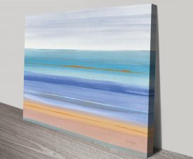 Warmth Abstract Seascape Wall Art