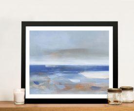 Calm Sea Jo Maye Framed Abstract Art