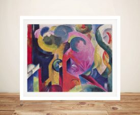Buy Composition lll Framed Franz Marc Print