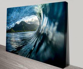 Teahupo'o 3 Surfscape Quality Wall Art