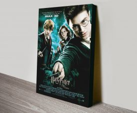 Harry Potter & The Order of the Phoenix Movie Poster