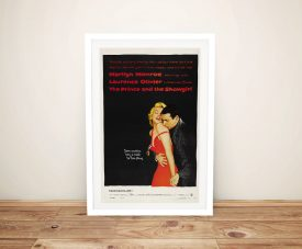 The Prince and the Showgirl Framed Poster
