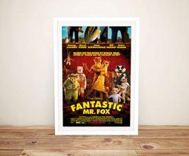 Buy a Framed Fantastic Mr Fox Movie Poster