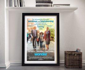 Buy a Framed Wonder Movie Poster Print